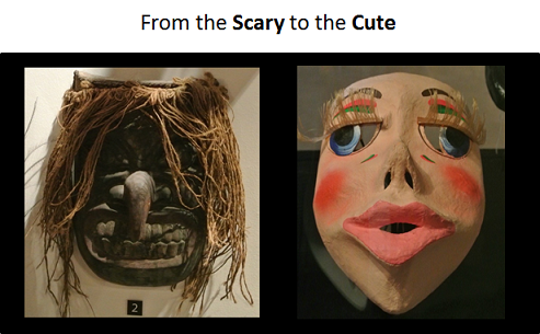 Scary to Cute