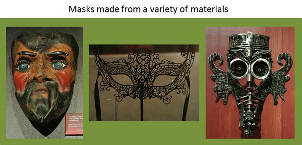 Variety of Materials