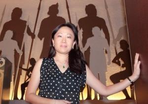 Karen Loh, president of the museum volunteers at the National Museum in Kuala Lumpur.