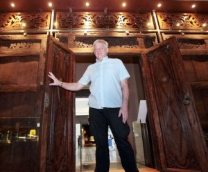 Stuart Wakefield, who has made Malaysia his temporary home, has been a museum volunteer for the past two years.