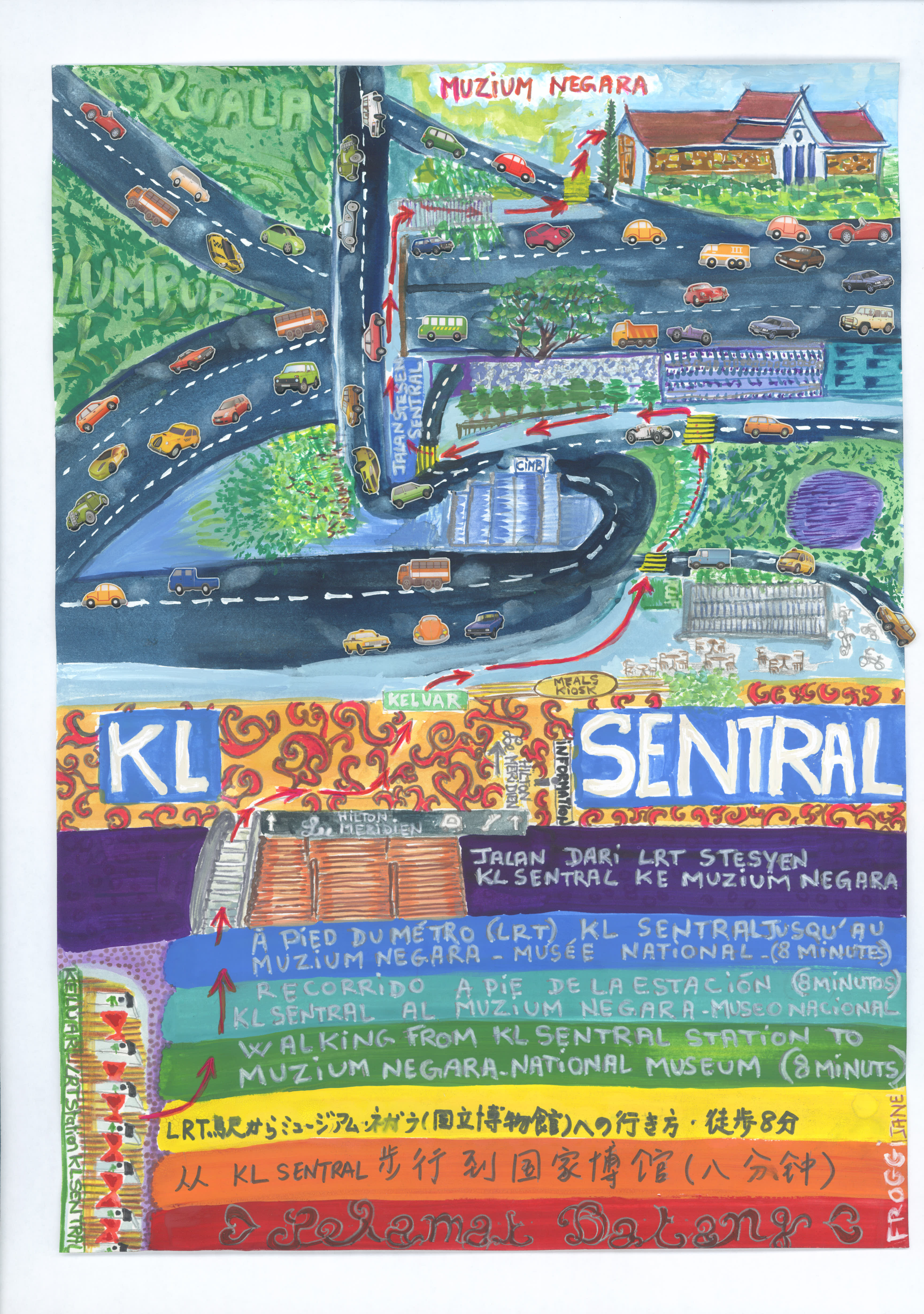 sentral to museum